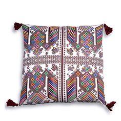 Panajachel Embroidered Pillow $160