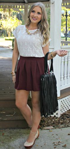 Showing a little FSU pride in today's garnet + gold #ootd feat @clothing1802