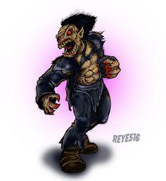 TINTA DE MONSTRUO: Rawhead Rex