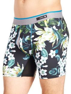 Stance Men's Flora Boxer Brief, Available at #EssentialApparel