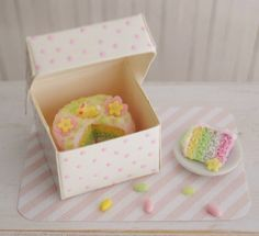 the most beautiful pastel easter vintage mini cakes in the world - Google Search