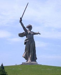 Madre Rusia, Volvogrado