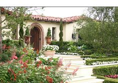 A Tuscan Inspired Garden located in Southern California