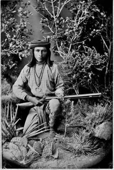 Seargeant Jim - White Mountain Apache - circa 1886༺ ♠ ༻*ŦƶȠ*༺ ♠ ༻