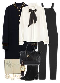 """""""Untitled #9946"""" by nikka-phillips ❤ liked on Polyvore featuring Belgique, Nomia, H&M, Yves Saint Laurent, Chanel and Sekonda"""
