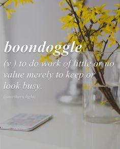Boondoggle-