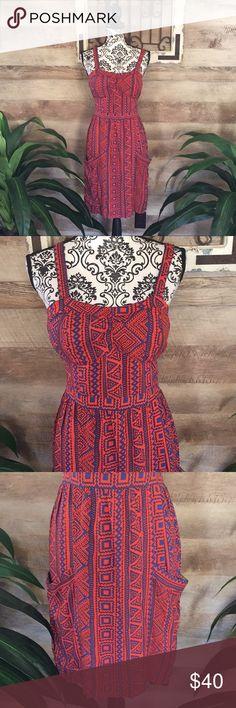 c8e3fcd8f4b Cut Out Criss Cross Back Tribal Dress