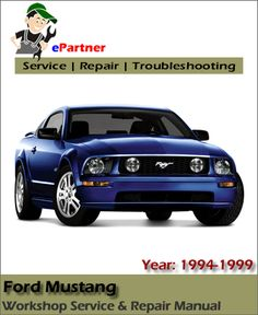 1968 ford shop service repair manual with decal cougar falcon rh pinterest com 1993 Ford Mustang 2005 Ford Mustang