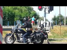 WARNING !! Motorbike / Motorcycle almost accident - YouTube