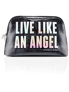 New! Victoria's Secret Fashion Show Large Cosmetic Bag from Victoria's Secret $30,50