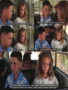 Aww, cute Forest Gump scene.