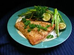 Weight Watchers Grilled Salmon With Teriyaki Sauce recipe – 5 points