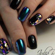 "14 Likes, 1 Comments - Nails_BeautyP (@nails_beautyp) on Instagram: ""#nailsbeauty #nailsblack #nailsbaku #nailslove #nailshopflow #nails #nailsvl #nails #nails…"""