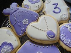 Sofia the First Sugar Cookies by TreatsbuyTerri on Etsy Barbie Birthday, Toy Story Birthday, Toy Story Party, Princess Sofia Birthday, Sofia The First Birthday Party, Mickey Mouse Parties, Mickey Mouse Birthday, Minnie Mouse, Cookies Et Biscuits