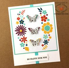 Card created by Stamp Crab using items from the 2015 Stampin' Up! Sale-A-Bration Brochure including cards from the This Day Project Life Mini Card Collection (138636), Coastal Cabana ribbon from the Best Year Ever Accessory Pack (138634), and sentiment from the Simply Wonderful Stamp Set (Clear 139128, Wood 139125).