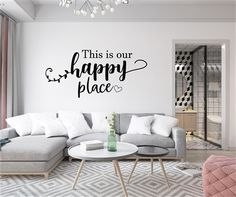 Vinyl Wall Decals, Wall Stickers, Sticky Vinyl, Primitive Country Homes, Teen Room Decor, Dorm Rooms, Vinyl Lettering, Textured Walls, Decorating Your Home