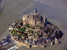 If you go to Paris, you have to make a day trip to the Mont St Michel, it is truly beautiful.