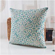 Algodón/Lino+Cobertor+de+Cojín+,+Novedad+Moderno/Contemporáneo+–+EUR+€+20.98