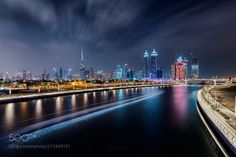 Dubai Canal by Sebastian_Tontsch