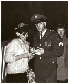 Sergeant Elvis Presley, February March 1960 (Scanned from a book and posted by JamesVRoy