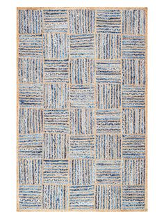 Seho Hand-Braided Cotton Rug