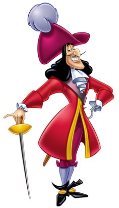 This cardboard cutout of Captain Hook would be great at a themed party, for decorations, and as gifts! Order this life-size cardboard standup of Captain Hook today! Stands at a size of x Sku # 1555 Disney Pixar, Walt Disney, Disney Wiki, Disney Villains, Disney Love, Disney Art, Disney Trivia, Disney Cosplay, Captain Hook Disney