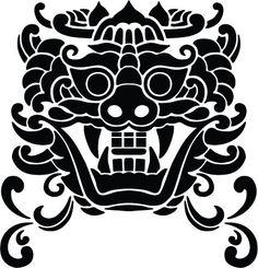 Dragon Chinese Armor, Chinese Dragon, Korean Art, Asian Art, Pitbull Drawing, Korean Tattoos, Chinese Element, Fu Dog, Korean Design