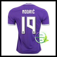 Fotballdrakter FC Real Madrid MODRIC #19 Bortedraktsett 2016-2017