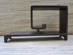 Vintage Asian Style Wooden Shelf Stand Display By Redoneandvintage 28 00 Shelves