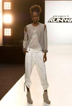 Project Runway Season 12 - Alexandria pre-finale runway - front