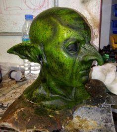 Goblin Mask - Hooked Nose by Mandala-Studios.deviantart.com on @DeviantArt