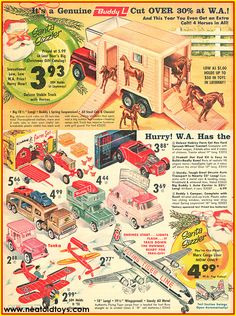 vintage western auto christmas catalog - Google Search