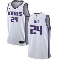 Nike Kings  24 Buddy Hield White NBA Swingman Association Edition Jersey 4c90eb319