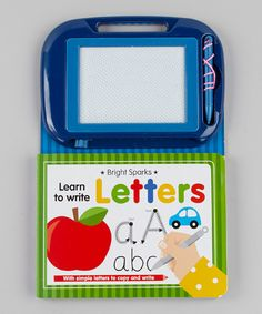 Look at this #zulilyfind! Learn to Write: Letters Board Book by World Publications #zulilyfinds