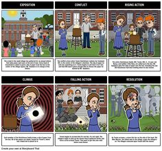 A common use for Storyboard That is to help students create a plot diagram of the events from a story. Not only is this a great way to teach the parts of the plot, but it reinforces major events and help students develop greater understanding of literary structures. View the full teacher guide here: https://www.pinterest.com/storyboardthat/the-lottery/