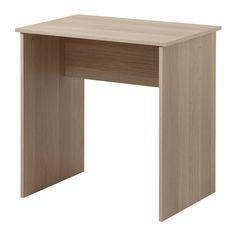 BALDVIN Desk, oak effect 68x49 cm oak effect