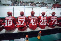 Redwings/Griffins training camp in Traverse City, MI