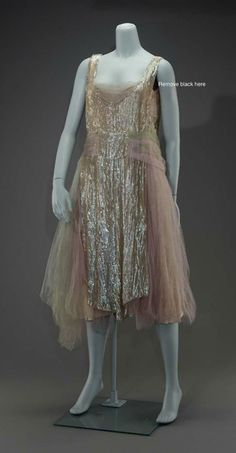 Evening dress, circa 1926, United States, MFA Boston