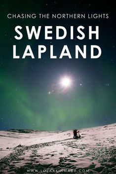 25 incredible photos that will inspire you to travel to Swedish Lapland to witness the magic of the Northern Lights. Taken by a Nat Geo photographer, these bucket list worthy photos will conjure up images of reindeer, snow and ice. Winter travel in Sweden. | Geotraveler's Niche Travel Blog#Sweden #NorthernLights #swedentravel