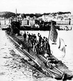 JUL 30 1943: The French submarine Casablanca