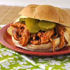 Pulled Chicken Sandwiches ~ table ready in 30 minutes!