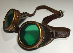 Picture of Steampunk Goggles - Upcycle