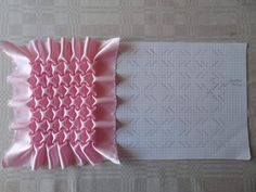 Best 12 How to do canadian smocking matrix design – Art & Craft Ideas Smocking Tutorial, Smocking Patterns, Sewing Patterns, Textile Manipulation, Fabric Manipulation Techniques, Sewing Tutorials, Sewing Crafts, Sewing Projects, Diy Crafts