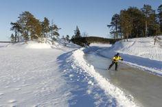 Tour Skating Lake Saimaa Finland