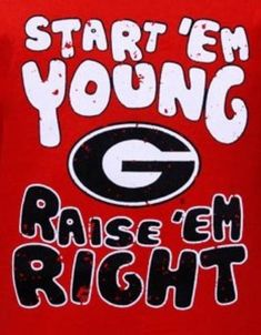 UGA football fans for life!