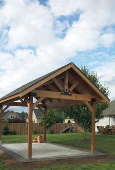 Shed Roof Pavilion And Sheds On Pinterest