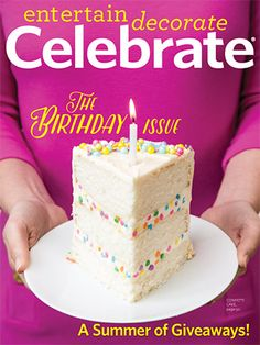celebrate magazine interview and feature