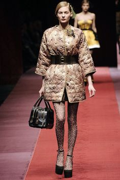 D&G Fall 2009 Ready-to-Wear Collection Photos - Vogue