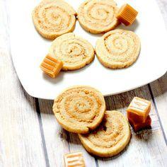 Caramel Swirl Cookies