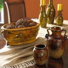 Love this Italian pottery!